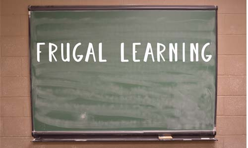 Frugal Learning